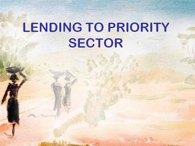 priority sector lending in india The rbi has released guidelines for last week (april 7, 2016) released guidelines for trading in priority sector lending certificates (pslc) as per the guidelines.