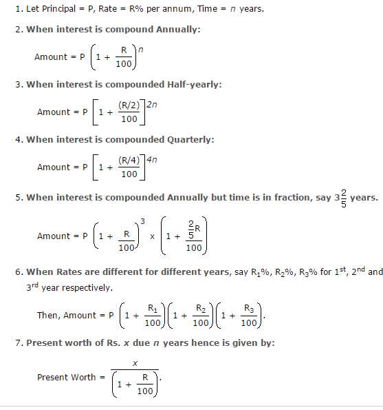Simple Interest Compound Interest Part 3 Day Today GK – Simple and Compound Interest Worksheet