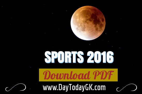 Sports PDF