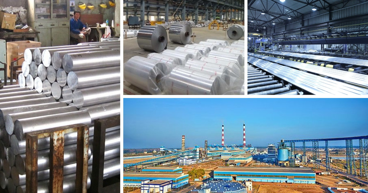 Aluminium Companies in India a complete list - Day Today GK