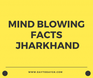 Facts about Jharkhand