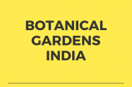 Botanical Gardens in India
