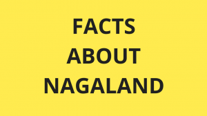 Facts about Nagaland