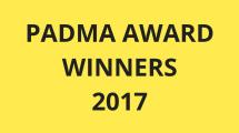 Padma Award Winners 2017
