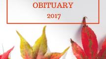 Obituary 2017