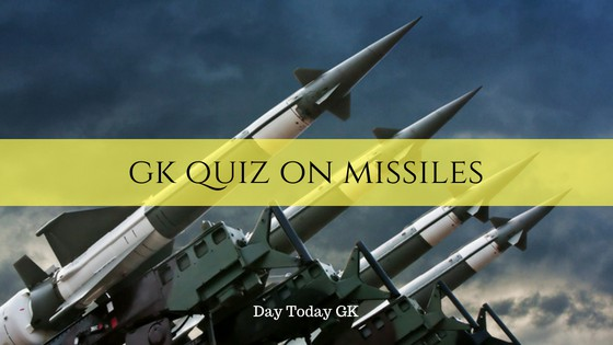 GK Quiz on Missiles of India